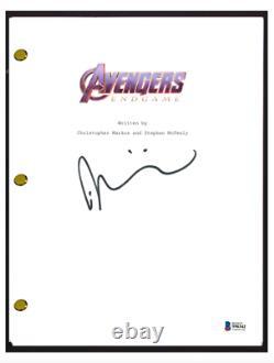 Taika Waititi Signed Autographed AVENGERS ENDGAME Movie Script Beckett BAS COA