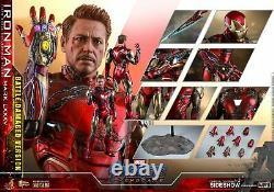Tony Stark Avengers Endgame Movie 1/6 30 cm (LXXXV Battle Damaged) Hot Toys