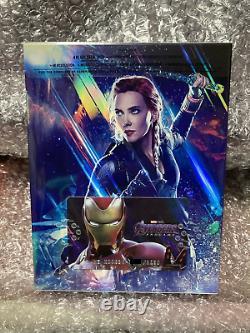 WEET Avengers Endgame Lenticular Fullslip steelbook (4K UHD+2D+Bonus Disc)