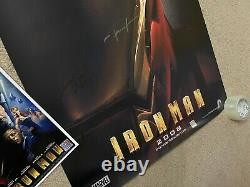Affiche De Cinéma De Iron Man Cast Signed Première Robert Downey Jr. Avengers Endgame
