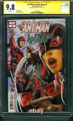 Ant Man Et Wasp 3 Cgc Ss 9.8 Evangeline Lilly 2018 Avengers Endgame Movie