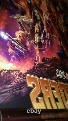 Avengers Endgame 27x40 Affiche 5lot Théâtre Original Spider-man Infinity War Thor