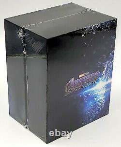 Avengers Endgame 4k Uhd + 2d Blu-ray Steelbook Boxset Weet Collection