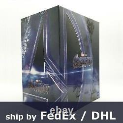 Avengers Endgame 4k Uhd Blu-ray Steelbook One Click Box Set Avec Enveloppe Révisée