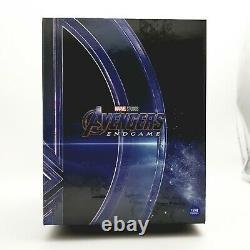 Avengers Endgame 4k Uhd + Blu-ray Steelbook One Click Box Set / Bord Bosselé