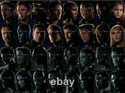 Avengers Endgame Affiche Film A4 Estampes Pack Les 32 Caractères