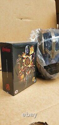 Avengers Endgame Blu Ray & 3d Blu Ray Steelbook (zavvi) & Thanos