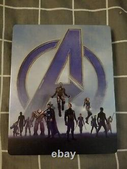 Avengers Endgame Fanatic Selection Double Lenticulaire Steelbook (4k Uhd)