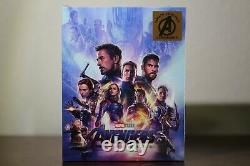 Avengers Endgame Fanatic Selection Steelbook One-click 4k Uhd + 2d Blu-ray