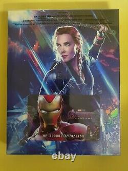 Avengers Endgame Lenticulo Fullslip Steelbook 4k Uhd Weet Collection Type B1
