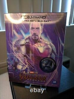 Avengers Endgame Lenticulo Fullslip Steelbook 4k Uhd Weet Type B1 Seeled