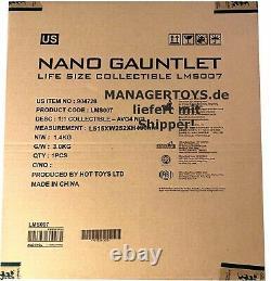 Avengers Endgame Master Replik Nano Gauntlet 52 CM Handschuh Led Infinty Steine