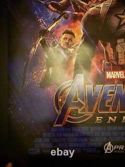 Avengers Endgame Original 2 Sided 27x40 Final Us Movie Poster Near Mint+