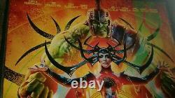 Avengers Endgame Thor Ragnarok 27x40 Ds Affiche De Cinéma Originale Set Marvel Mjolnir