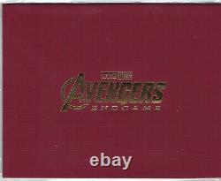 Avengers Endgame Weet Collection 4k Limited Steelbook Un-click Box Set (corée)