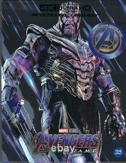 Avengers Endgame Weet Collection 4k Limited Steelbook Withfull Slip A1 (corée)