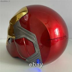 Avengersendgame Iron Man Mk85 Casque Tony Stark Cosplay Prop Touch Control Masque