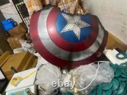 Captain America Broken Shield Metal Prop Replica Avengers Endgame