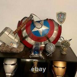 Captain America Broken Shield Metal Prop Replica Avengers Endgame Movie Shield