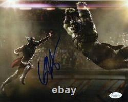 Chris Hemsworth Avengers Thor Ragnarok Endgame Autographié Signé 8x10 Photo Jsa