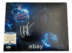 Chris Hemsworth Signé 11x14 Photo Avengers Endgame Marvel Thor Auto+bas Coa