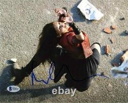Elizabeth Olsen Avengers Endgame Autographié Signé 8x10 Photo Beckett Bas Coa
