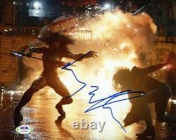 Elizabeth Olsen Avengers Endgame Autographié Signé 8x10 Photo Psa/adn Coa