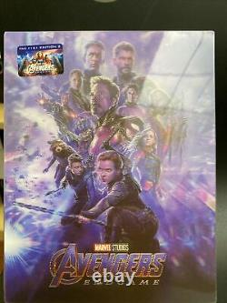 Filmarena Fac #151 Avengers Endgame Lenticulaire Fullslip XL Steelbook Ed #2