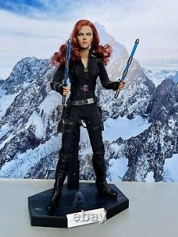 Hot Marvel Avengers Black Widow Film Figurine Kitbash 16 Échelle 12 Jouet Collectionneur