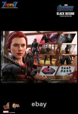 Hot Toys 1/6 Mms533 Avengers Endgame Black Widow Box Marvel Film Maintenant Ht465z