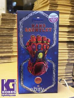 Hot Toys Acs008 1/4 Nano Gauntlet Film Promo Edition Avengers Endgame Iron Man