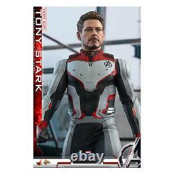 Hot Toys Fin Jeu Film Pièce Maîtresse Tony Stark Team Costume Figure Nouveau