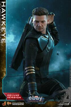Hot Toys Movie Masterpiece Avengers End Game Deluxe Hawkeye Figure New In Stock