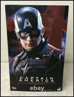 Hot Toys Movie Masterpiece Avengers Endgame 1/6 Captain America Action Figurine