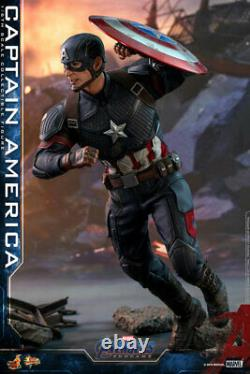 Hot Toys Movie Masterpiece Captain America (avengers / End Game) Version Japon