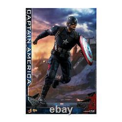 Hot Toys Movie Masterpiece Endgame Captain America Action Figure Nouveau