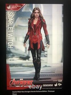 Hot Toys Scarlet Witch New Avengers Version Film Promo Edition New In Box