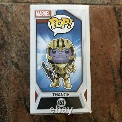 Josh Brolin A Signé Funko Pop Avengers Endgame Thanos Beckett Bas Coa