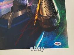 Josh Brolin Signé Autographié 11x14 Photo Thanos Avengers Endgame Psa/adn Coa