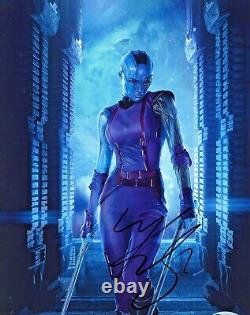 Karen Gillan Signé 8x10 Avengers Nebula Photo Beckett Bas Coa