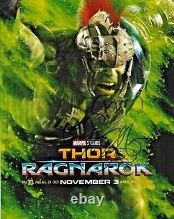 Mark Ruffalo Hulk Les Avengers Endgame Marvel Signé Auto 8x10 Photo Dg Coa (b)