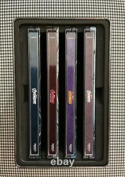Marvel Studios Avengers 4k Ultra Hd Blu-ray Best Buy Steelbook 4 Movie Set