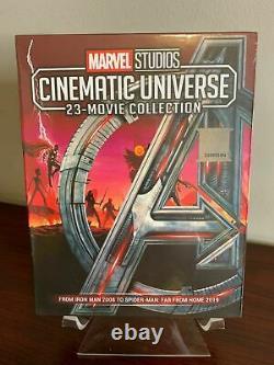 Marvel Univers Film Cinéma Avengers Endgame Collection Blu-ray Phase 1 2 3