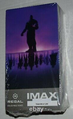 Marvels Avengers Endgame Imax Collectible Regal Ticket Movie Lot Scellé De 100