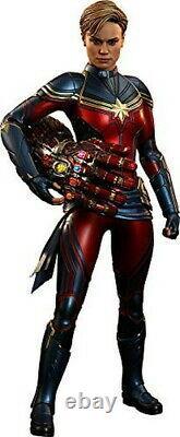 Movie Masterpiece The Avengers / Fin De Jeu Captain Marvel 1/6 Échelle Figure Bleu