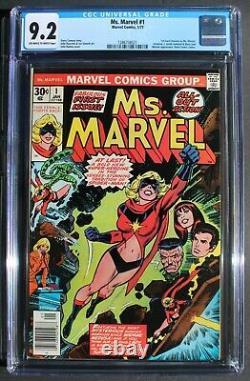 Ms Marvel #1 Capitaine Carol Danvers Movies 1977 Avengers Infinity Endgame Cgc 9.2