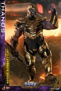 New Hot Toys Movie Masterpiece Avengers Endgame Thanos Battle Dégâts Version 1/6