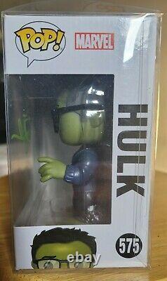 Père! Marvel #575 Avengers Endgame Hulk (avec Tacos) Figure Signée Funko
