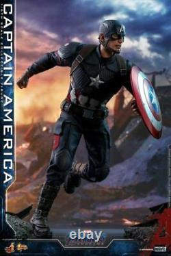 Pré-vente Hottoys Movie Masterpiece End Game Captain America 16 Échelle Figure