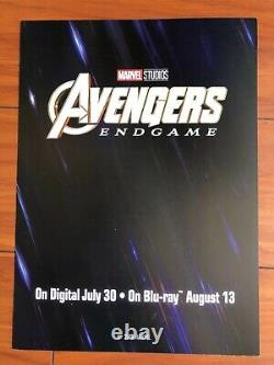 Sdcc 2019 Avengers Endgame Signé Affiche Russos + Écrivains + Sebastian Stan